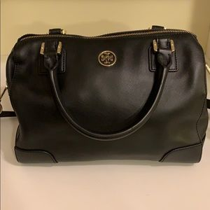 Authentic Tory Burch black crossbody purse